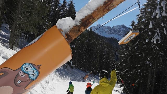 Prapoutel / Les 7 Laux : le Parcours de la Taupe,un endroit incontournable pour petits et grands skieurs