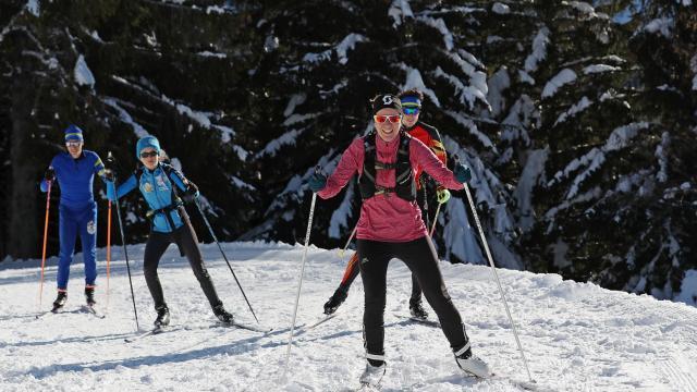 Prapoutel - Les 7 Laux : le domaine nordique de Beldina, un lieu incontournable pour les amateurs de ski de fond